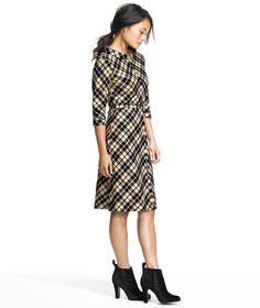 Cotton/Silk Flannel Bias Dress: DRESSES | Free Shipping at L.L.Bean