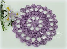 Lacy Crochet: Small Doily Motif - Star Wheel Design
