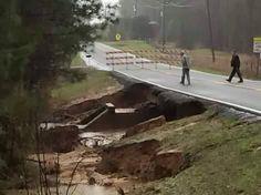 Roads are disintegrating