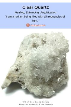 Crystals and Minerals for Sale - Highlights - April - Current Updates - These articles help to support our mission to promote the education and use of crystals to support healing. Crystal Uses, Clear Quartz Crystal, Crystals In The Home, Natural Crystals, Blue Calcite, Minerals For Sale, Quartz Cluster, Crystal Meanings, Smokey Quartz