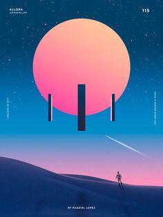 Un póster al día, el proyecto personal de Magdiel López   Blog de diseño gráfico y creatividad.