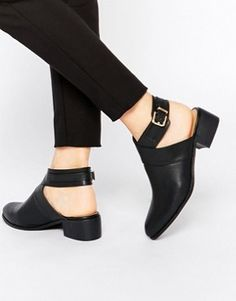 Daisy Street Cut Out Ankle Boots