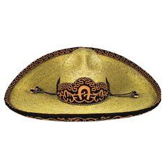 dcf75dd514d90 Con caracter y parte de una tradicion el Sombrero  Charro