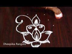 Easy peacock Rangoli 5X3 dots | Simple rangoli designs | Easy kolam | Simple muggulu | Easy rangoli - YouTube Peacock Rangoli, Rangoli With Dots, Simple Rangoli, Creative Video, Rangoli Designs, Youtube, Home Decor, Decoration Home, Room Decor