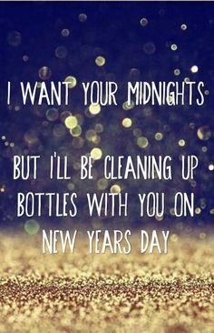 Taylor Swift New Years Day Lyrics