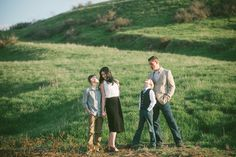 Family pictures and rolling green hills.  Vis Photography.