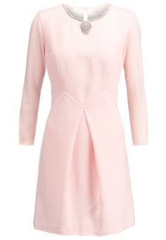 HASWELL - Vestido camisero - nude pink