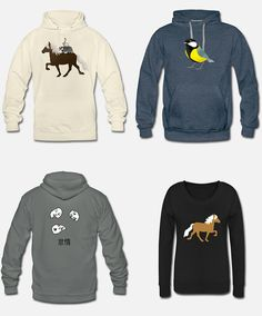 Es ist wieder Hoodie-Zeit! Hoodies mit diversen Motiven... . #Hoodie #bestellen #buy #Motiv #Design #Shirt #tshirt #Pulllover #Pferd #horse #Meise #Bird #face #Lazy #kanji #ride #Islandpferd #tölt #tolt #drawing #illustration #print #shop #bedrucken #paard #Koolmees #ritje #Cheval #pulli