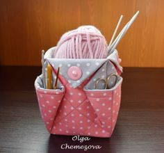 44 Ideas For Sewing Storage Ideas Crochet Baskets Sewing To Sell, Sewing Box, Fabric Crafts, Sewing Crafts, Crochet Projects, Sewing Projects, Fabric Basket Tutorial, Tutorial Sewing, Fabric Boxes
