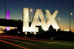 LAX airport, Los Angeles California USA