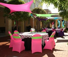 80's party in Tampa. tampa-corporate-event-planning-and-decor