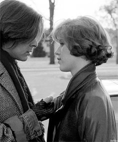 The Breakfast Club. Judd Nelson & Molly Ringwald.