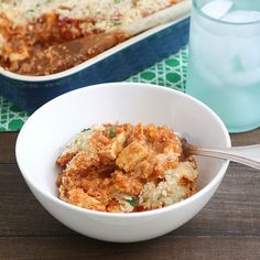 Baked Quinoa Chicken Parmesan by Tracey's Culinary Adventures, via Flickr