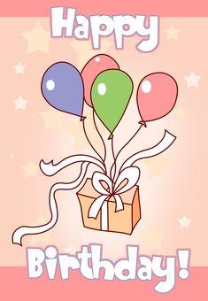 #Birthday #Card Free #Printable