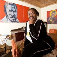 VISIT HOMES IN TOWNSHIPS THAT WE'VE TURNED INTO ART GALLERIES