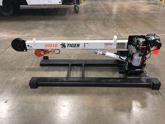 2081 Tiger Crane Welding Shop, Welding Rigs, Welding Trucks, Welding Trailer, Crane Lift, Hydraulic Ram, Fabrication Tools, Gantry Crane, Space Frame