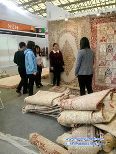 We are in Shanghai Domotex Exhibition now. www.yilongcarpet.com alice@yilongcarpet.com whatsapp&viber: 0086 15638927921