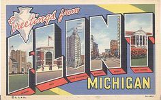 Flint, MI. Home of Michael Moore, lol!