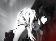 Light and Misa Death Note