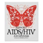 AIDS/HIV Butterfly Poster  			  		 			 $12.40  			 by  fightcancertees http://www.zazzle.com/aids_hiv_butterfly_poster-228187355201210086?rf=238756979555966366&tc=PtMPrssHMMposter