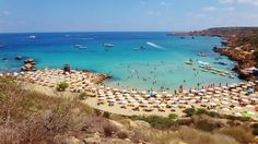 The spectacular Konnos Bay midway Protaras and Ayia Napa - Cyprus
