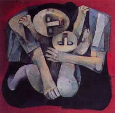 Ang Kiukok - Mother and Child Vince Low, Anxiety And Anger, Mother And Child Painting, Filipino Art, Philippine Art, Philippines Culture, Examples Of Art, Madonna And Child, Thing 1