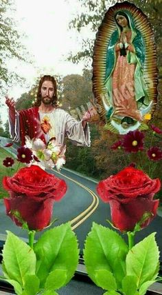icu ~ Me gustan Jesus Mother, Blessed Mother Mary, Blessed Virgin Mary, Mother Mother, Prayers To Mary, Jesus Our Savior, Pictures Of Jesus Christ, Miss You Mom, Mary And Jesus