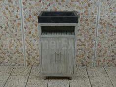 Badkamermeubel Raung Cabinet Mindyhout bluestone