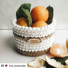 Bom dia a todos! Cesto lindo! Por @knit_krasnodar 😍 . #Trapilho #fiosdemalha #fiodemalha #crochetaddict #handmade #handmadewithlove #totora #alfombra #shirtyarn #feitocomamor #decor #knit #knitting #rugs #croche #comprarfiodemalha #fiodemalhaemsaopaulo #fiodemalhafretegratis #kitfiodemalha #kitsfiodemalha #crochet #artecomfiosdemalha #artesanato #feitoamao #vendofiosdemalha #organizadores #fiosecologicos #quartodemenina #cestofiodemalha #fiosdemalha #feitoamao