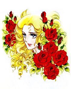 """Queen Marie Antoinette from """"La Rose de Versaille"""" by Ms.Riyoko Ikeda."""