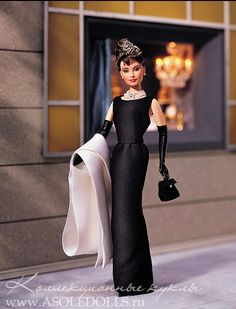 Barbie Audrey Hepburn - Holly Golightly