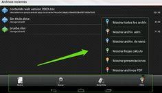Cuatro aplicaciones más para manejar documentos ofimáticos desde los móviles y tablets  http://www.genbeta.com/p/71813