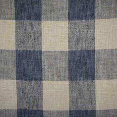 P / Kaufmann Fabrics Check Please Lakeland Blue 4 Inch Plaid