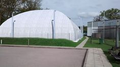 Tennis Dome for planning application - SketchUp, Twightlight render and Photoshop