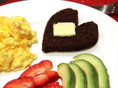 Make Boston Brown Bread and Cut Into Heart Shapes for the Big Day >> http://blog.diynetwork.com/maderemade/2014/02/05/valentines-breakfast-diy-boston-brown-bread/?soc=pinterest