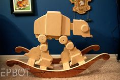 Rocking AT-AT...New husband requirement- must love Star Wars, and must be able to build this. And not judge me for riding it when I think no one is looking...