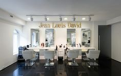Salons Internationaux_Russie-StPetersbourg Hair Shop, Salons, Vanity, Mirror, David, Furniture, Home Decor, Beauty Bar, Russia