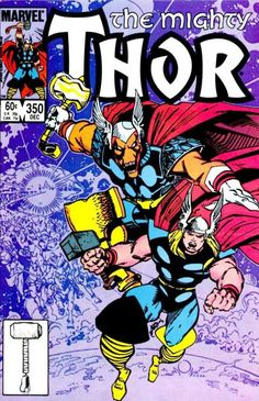 The Mighty Thor 350 by Walt Simonson. Bring on Beta Ray Bill!