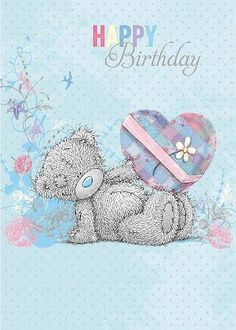Birthday Quotes QUOTATION – Image : As the quote says – Description ┌iiiii┐ Tatty Teddy Happy Birthday Happy Birthday Quotes, Happy Birthday Images, Birthday Pictures, Happy Birthday Wishes, Birthday Greetings, Tatty Teddy, Feliz Cumpleanos Quotes, Teddy Pictures, Bear Card