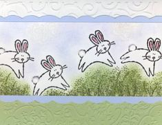 Bouncing Bunnies! by imastampin - Cards and Paper Crafts at Splitcoaststampers
