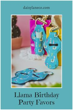 Cute llama keychains are the perfect llama birthday party favor. Hang them on the outside of goodie bags for a unique llama party idea. Display on a table to add to your llama party decorations for your guests to grab. Each llama party favor holds a standard tube of lip balm. Llama design fits with a llama birthday party, fiesta theme party & cactus party. From a llama birthday party to fiesta bachelorette party, these party favors compliment any party. Visit daisylaneco.com to purchase. Kids Birthday Themes, Party Themes For Boys, Birthday Party Favors, Birthday Parties, Llama Birthday, Girl Birthday, Bachelorette Party Planning, Fiesta Theme Party, Goodie Bags