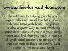 http://online-fast-cash-loans.com/how-can-an-online-payday-loan-help-my-credit-score/   In spite of the widespread criticism that online payday loans receive, consumers are using these products with alarming regularity.