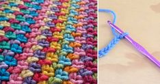 How to crochet the moss stitch (video tutorial & diagram) - http://eradaily.com/crochet-moss-stitch-video-tutorial-diagram/
