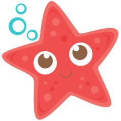 Starfish: Miss Kate Cuttables-- SVG scrapbook cut file cute clipart files for silhouette cricut pazzles free svgs free svg cuts cute cut files Star Clipart, Cute Clipart, Arts And Crafts Interiors, Arts And Crafts For Adults, Art And Craft Videos, Under The Sea Party, Cute Cuts, Ocean Themes, Arts And Crafts Movement