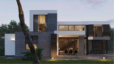 Stunning Brick Modern Home