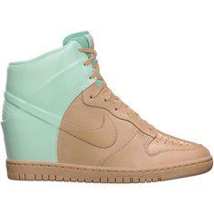 Nike Dunk Sky Hi Vac Tech Women's Shoe ($220) found on Polyvore