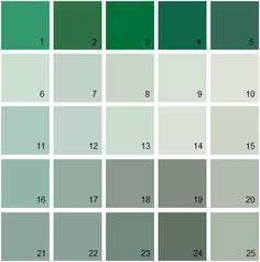 Benjamin Moore Green House Paint Colors Palette 23 Difference Between Colony And Palladian Blue