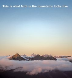 Rewards of faith in the mountains - moosefish.com