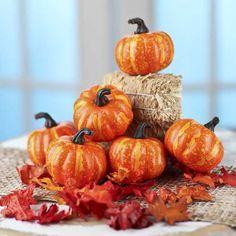 Decorative Artificial Pumpkins