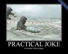 Practical Joke Funny Picture